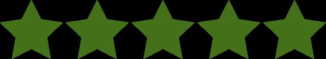 Vi har 5 stjerner for vores tidligere kunder på Facebook. De har alle fået udviklet ny hjemmeside eller webshop hos os.